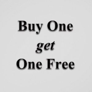 BUY ONE GET ONE FREE! Value of $10 or less only!